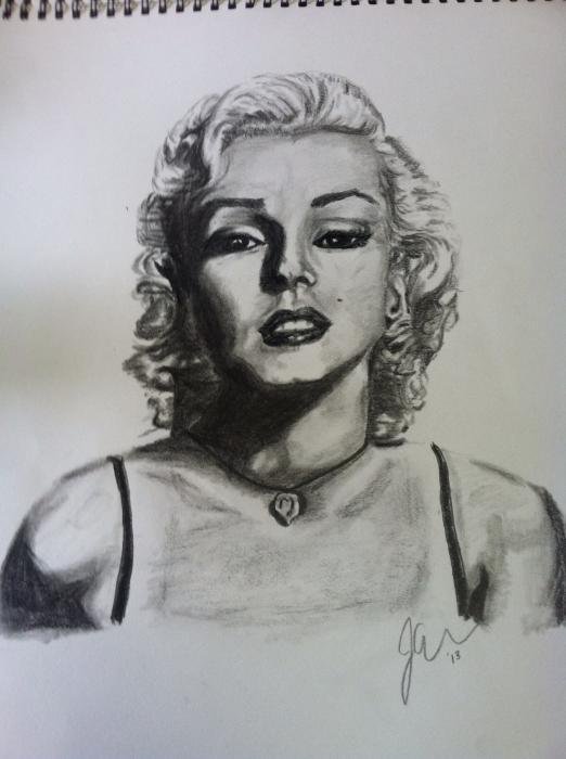 Marilyn Monroe por Jojocraw